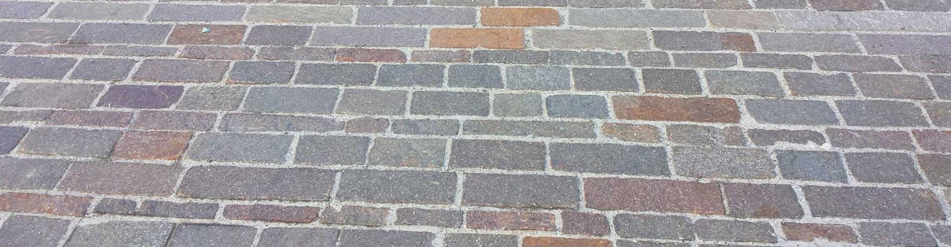 binderi in porfido per pavimentazioni esterne